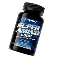 Super Amino 6000 Dymatize Nutrition 180 таблеток