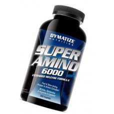 Super Amino 6000 Dymatize Nutrition 345 таблеток