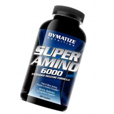 Super Amino 6000 Dymatize Nutrition 500 таблеток