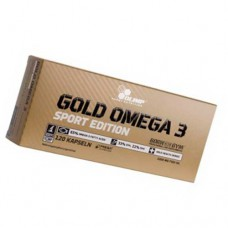 Gold Omega 3 Sport edition Olimp 120 капсул