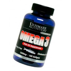 Omega 3 Ultimate Nutrition 180 капсул