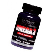 Omega 3 Ultimate Nutrition 90 капсул