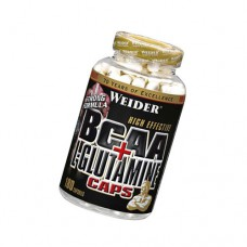 Muscle Recovery BCAA + L-Glutamine 180 капсул Weider