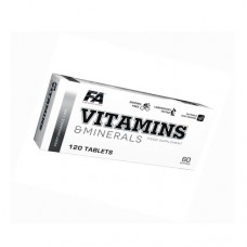Vitamins and Minerals 120 таблеток Fitness Authority