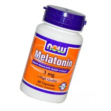 Melatonin 3 мг 60 капсул NOW