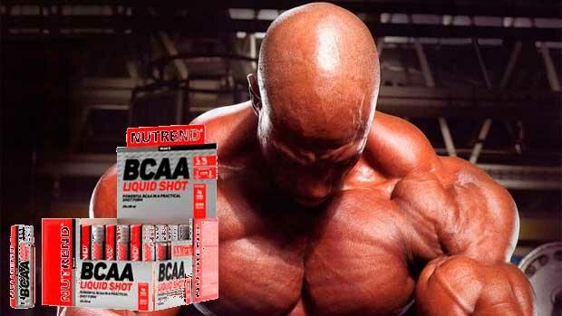 Купить и заказать BCAA Liquid Shot 20Х60 ml Nutrend в Киеве и Украине