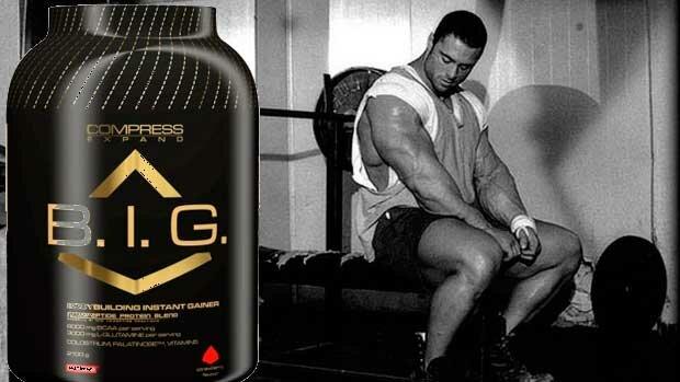Купить и заказать Compress B.I.G Bodybuilding Instant Gainer Nutrend в Киеве и Украине