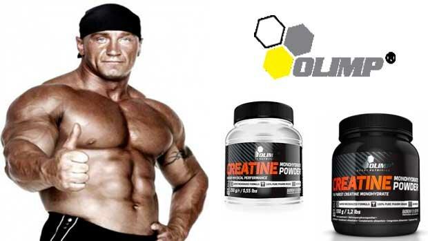Creatine monohydrate powder Olimp