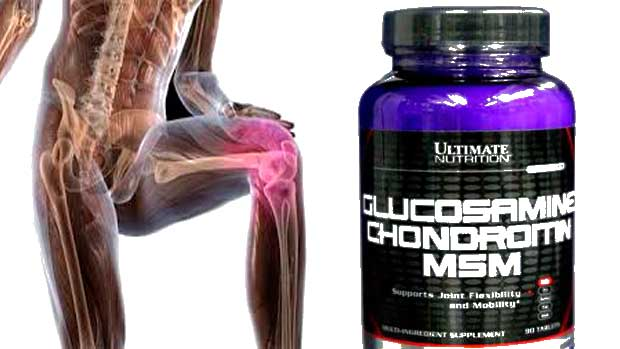Glucosamine Chondroitin MSM Ultimate Nutrition препарат для суставов и связок