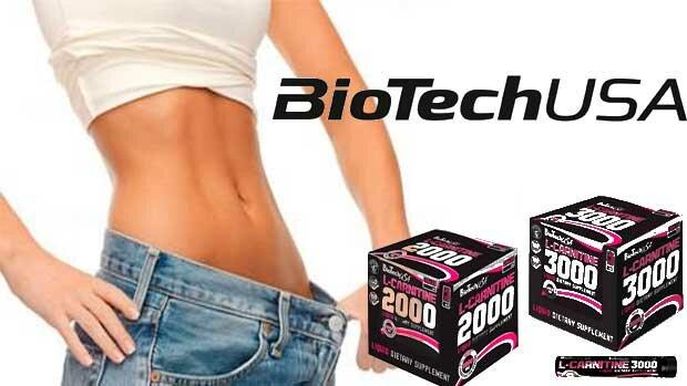 Купить и заказать L Carnitine 2000 ampule BioTech в Киеве и Украине
