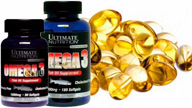 Купить и заказать Omega 3 Ultimate Nutrition 1000 мг в Киеве и Украине
