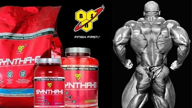 Купить и заказать комбинированный протеин Syntha 6 BSN